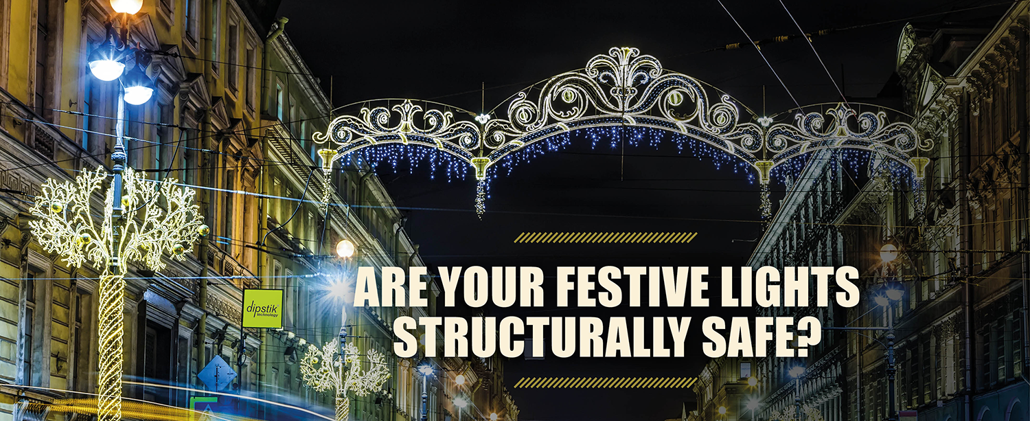 Are your festive lights structurally safe