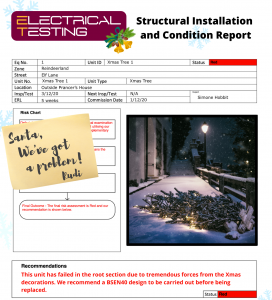 Structural Xmas Report